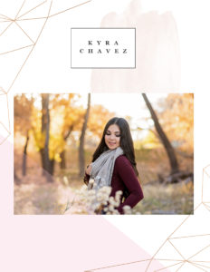 Kyra Chavez || St. Michaels HighSchool || Santa Fe, New Mexico Senior Portraits